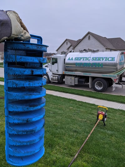 Septic tank Filter Installation, Replacement, and Cleaning